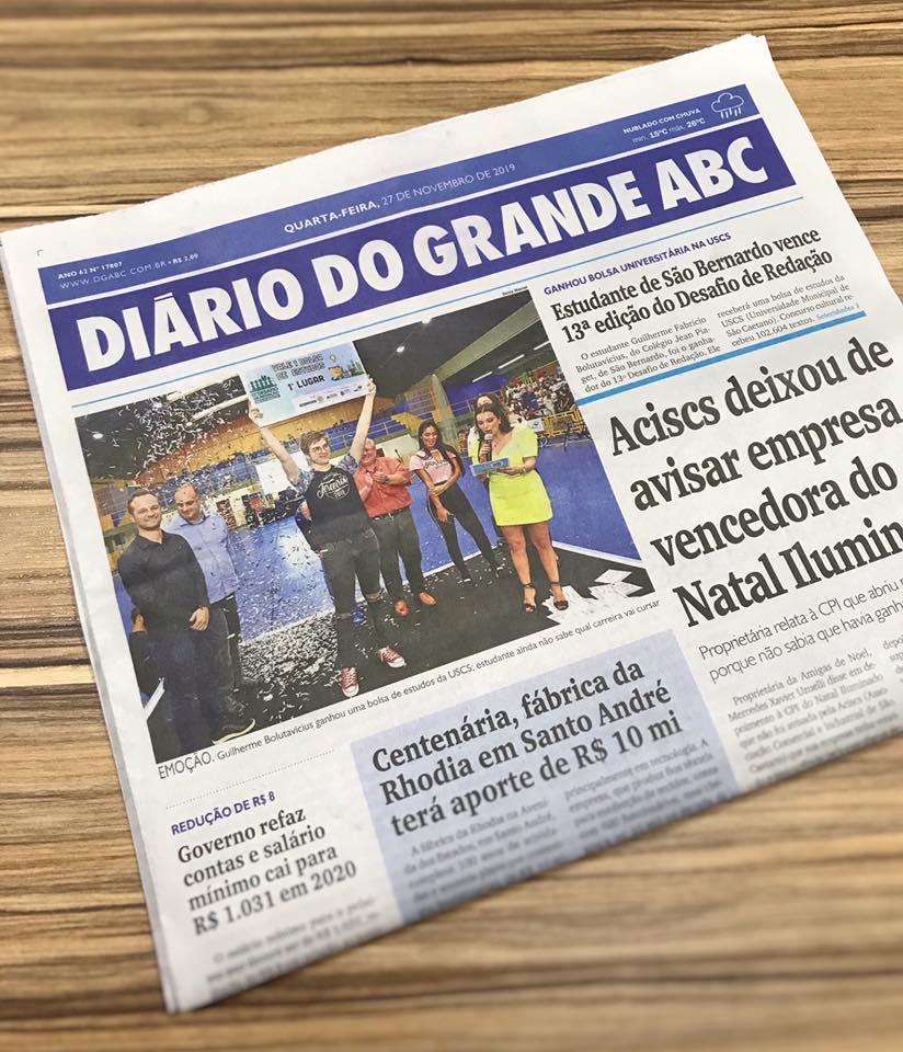 jornal do diário do grande abc
